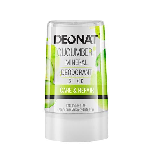 Дезодорант-стик минеральный   С ЭКСТРАКТОМ ОГУРЦА   40g DeoNat