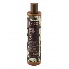 Балансирующий шампунь для волос  ВОССТАНОВЛЕНИЕ И УКРЕПЛЕНИЕ  для жирных у корней и сухих кончиков , KARITE SPA  350ml EcoLab